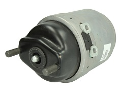 Vzduchový brzdový válec a ventil