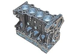 Blok motoru, polomotor