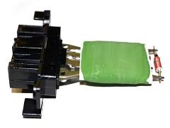 Rezistor ventilátoru topení