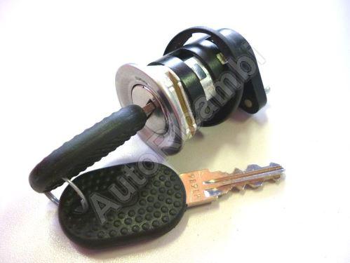Obal zámku posuvných dveří Fiat Ducato 02 + vložka + klíč
