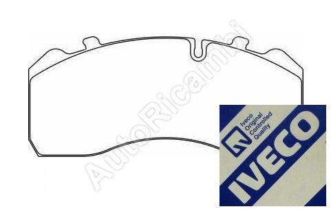 Brzdové destičky Iveco EuroCargo 120E,160E p=z
