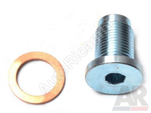 Výpustná skrutka olejové vany Fiat Doblo 1,9JTD