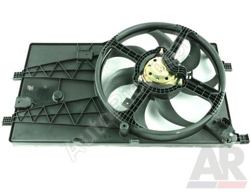 Ventilátor chladiča Fiat Fiorino 07> 1.3MJTD s klimatizáciou