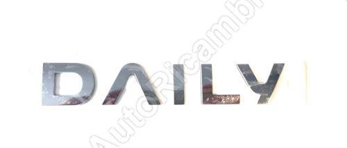 Znak''DAILY'' Iveco Daily 2014> zadní