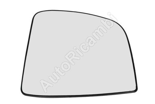 Sklo zrcadla Fiat Doblo 2010> levé, s držákem, nevyhřívané