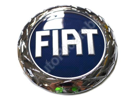 Znak FIAT Doblo 2005-2010  přední modrý 95mm