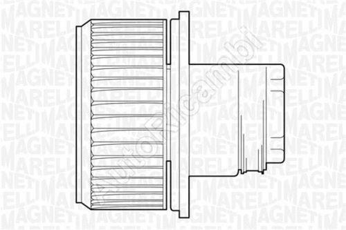 Ventilátor topení Fiat Ducato 230/244
