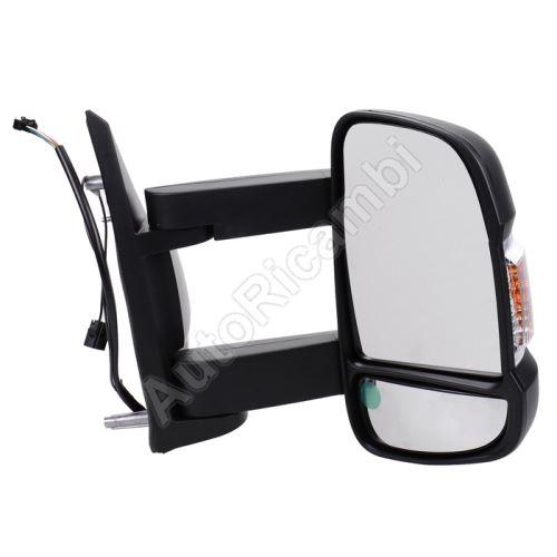 Zrcadlo Fiat Ducato 2014> pravé, dlouhé, vyhřívaná 16W- s anténou