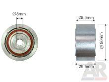 Kladka řemene alternátoru Fiat Ducato 244 2,0 JTD vodící