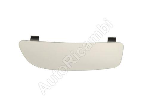 Sklo zrcadla Fiat Doblo 2010> levé, spodní, vyhřívaná, s držákem