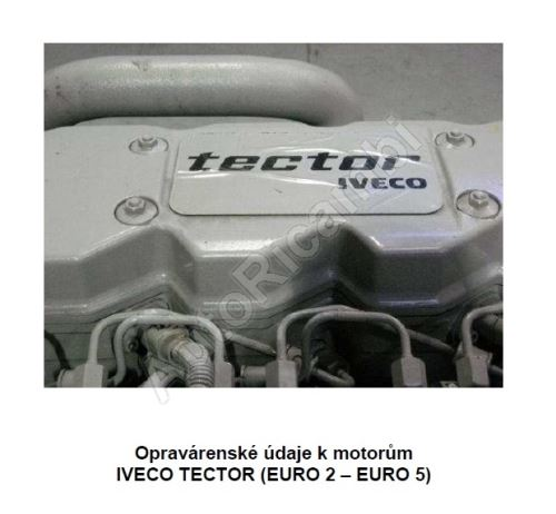 Údaje k motorům Iveco Tector E2 - E5 (PDF)