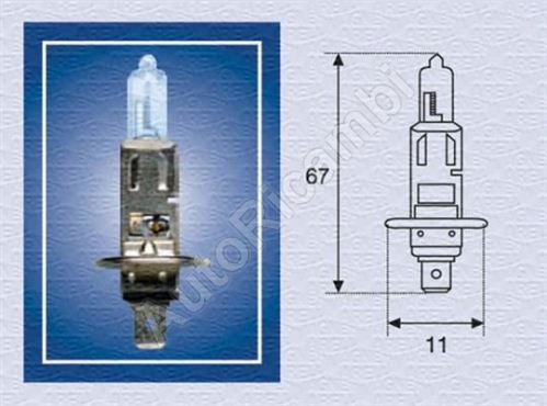 Žárovka 12V H1 55W