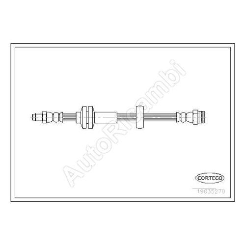 Brzdová hadice Fiat Ducato 250/2014> přední L = 515mm