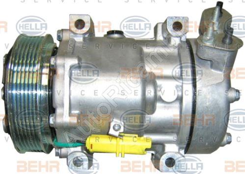 Kompresor klimatizácie Fiat Scudo 07> 1,6JTD