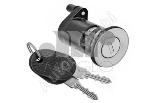Obal zámku levých dveří Fiat Ducato 02 + vložka + klíč