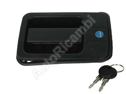 Klika dveří Iveco Eurocargo pravá s klíčem