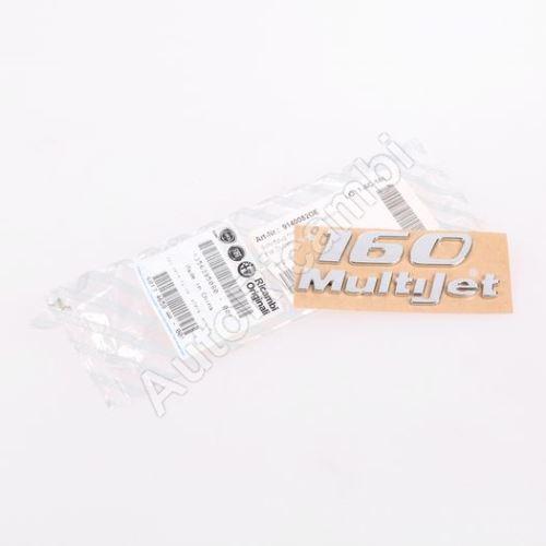 """Znak """"160 Multijet"""" Fiat Ducato 250"""