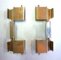 Prítlačné plechy platničiek Iveco Daily 2006 65C zadné