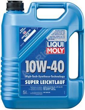 Liqui Moly 1300 motorový olej 10W-40, Super leichtlauf 5l