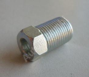 Koncovka brzdové trubky 12/1 mm, pro 5mm trubku L = 21mm