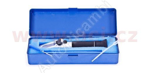 Refraktometer-nemrznúca,adblue a elektrolytu aku.