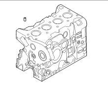 Strediaci kolík hlavy valcov Iveco Daily, Fiat Ducato F1A 2,3