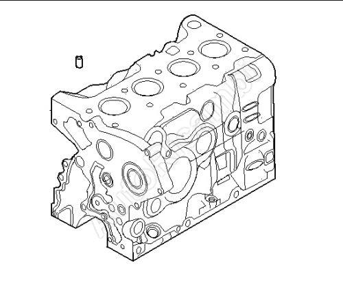 Středicí kolík hlavy válců Iveco Daily, Fiat Ducato F1A 2,3