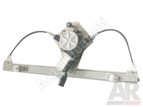 Mechanismus stahování okna Fiat Doblo 2000-10 elektrický, pravý, s motorkem