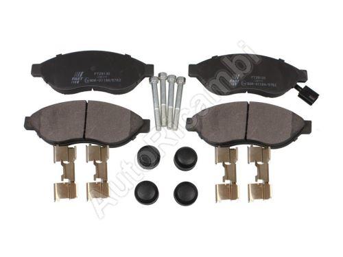 Brzdové destičky Fiat Ducato 250/2014> přední Q11-17L - jeden senzor