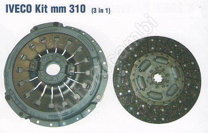 Spojka Iveco EuroCargo 75E14, 310mm