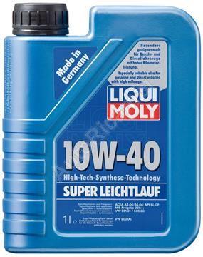 Liqui Moly 1300 motorový olej 10W-40, Super leichtlauf 1l