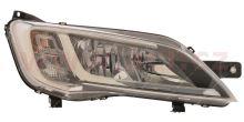 Svetlomet Fiat Ducato 2014 pravé H7+H7 chromové OEM