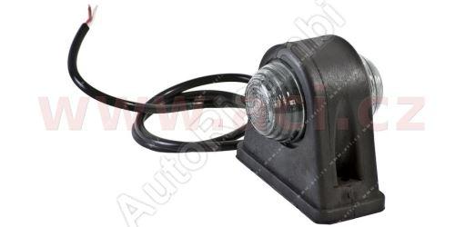 Obrysové světlo červeno-bílé s 50 cm kabelem 24V (2 LED diody) TRUCK  L = P