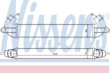 Chladič vzduchu Fiat Doblo 2000-09 1,3 MTJ/1,9 JTD