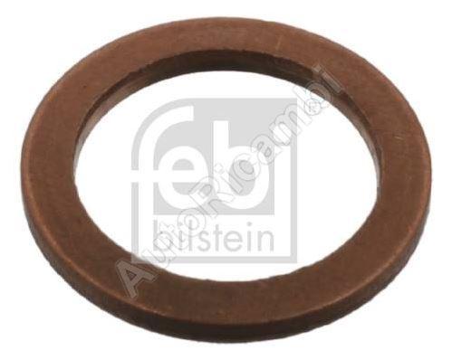 Těsnící kroužek výpustného šroubu oleje Fiat Ducato 2011/14-, Doblo 2000/10/15- 2.0 JTD