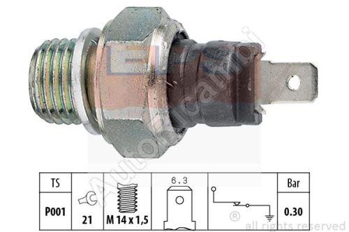 Snímač tlaku oleje Iveco TurboDaily