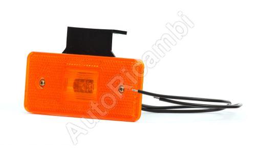 Světlo poziční oranžové LED uni 105x45 mm