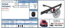Doplňkové vzduchové pérování Iveco Daily 35S pero nad nápravou