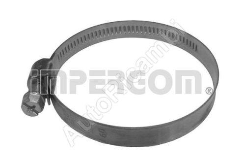 Hadicová spona perforovaná 60-80 mm