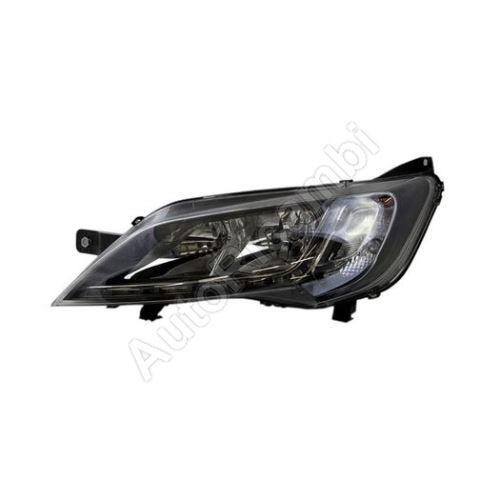 Světlomet Fiat Ducato 2014 levý H7 + H7 + LED černý rámeček