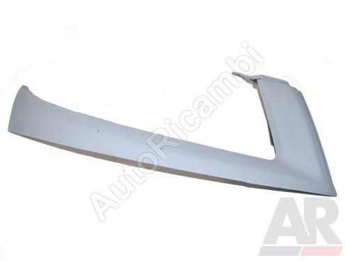 Lišta pod přední světlomet Fiat Doblo 2005-10, pro lak, pravá