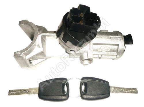 Spínací skříňka Fiat Ducato 2002-2006 bez imobilizéru, s vložkou a klíči