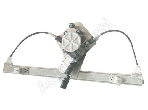 Mechanismus stahování okna Fiat Doblo 2000-10 elektrický, pravý