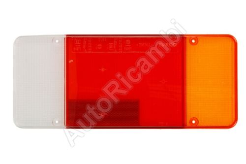 Sklo zadního světla Iveco Daily do 2006, EuroCargo 75E, Fiat Ducato do 2011 pravé