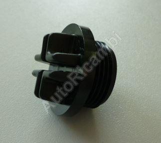 Šroub výpustní - zátka M22 - na chladič