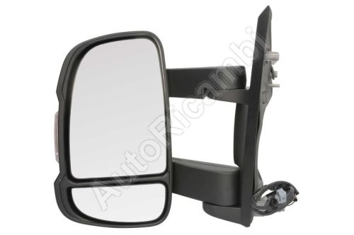 Zrkadlo Fiat Ducato 250 ľavé stredné elektrické (155mm) 16W + senzor