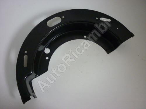 Krycí plech brzdy Iveco EuroCargo 120, L spodní, P vrchní