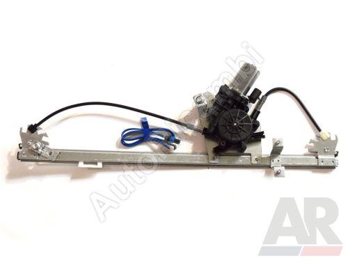 Mechanismus okna Fiat Ducato 250, 2014> elektrický pravý, (2-pin) s motorkem