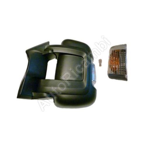 Zrcadlo Fiat Ducato 250, 2014> levé, krátké, elektrické, 16W žárovka, se senzorem (80mm)