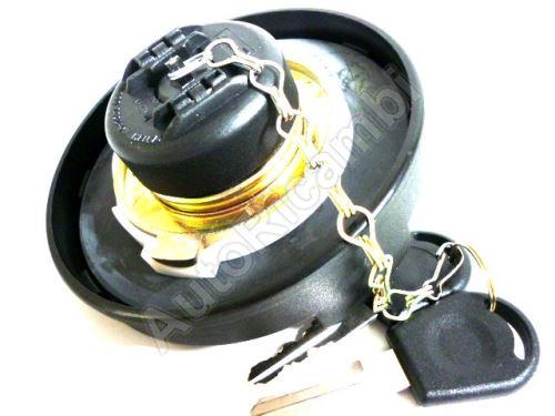 Uzávěr nádrže Iveco EuroCargo, Stralis 80mm + 2 klíče